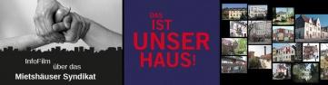 Das ist unser Haus! Infofilm-Banner
