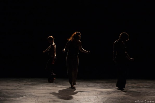 24/7 VOLER VOLAR with from right to left: Nadine Herrmann, Claire Frachebourg and Me © Robin Gommel