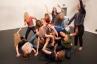 TANZPLAGE II - Lea Martini with Anna-Karin Domfors, Lisen Ellard, Patricia Celine Monika Eisele, Tea Harryson, Katrine Johansen, Mirj Karvat, Lisa Klingelhöfer, Jo Koppe, Renate Müller-Procyk, Annika Pawlitz, Lena Schillebeeckx, Rosalie Schönherr © Rainer Muranyi